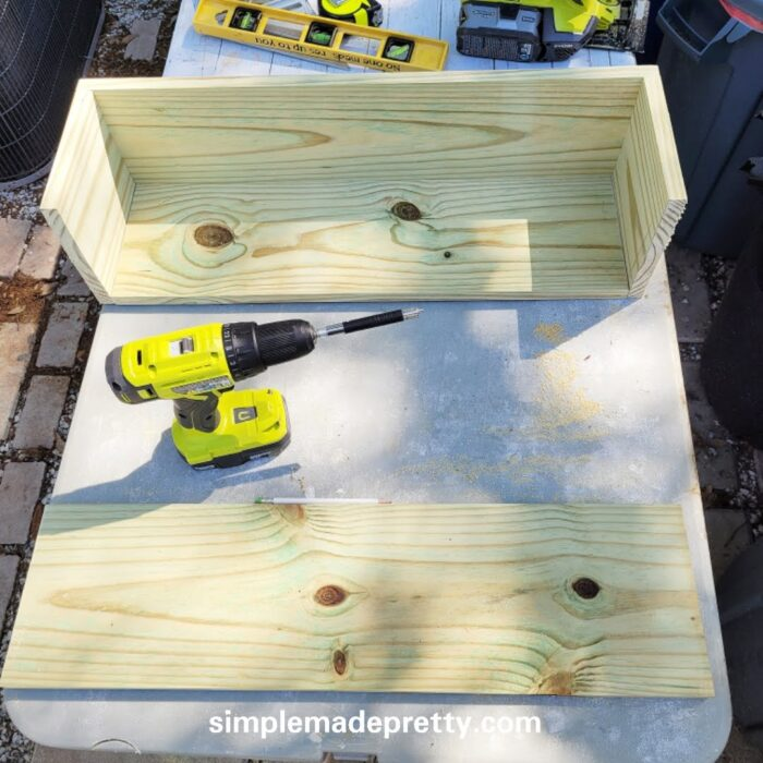 DIY window boxes how to build