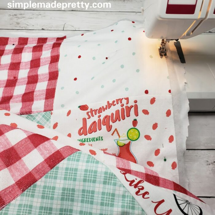 Patchwork quilt how to make