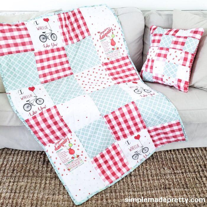 Scrap Fabric Quilt Patchwork
