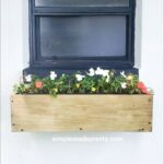 $9 Window Planter Box DIY – No Brackets and Removeable!