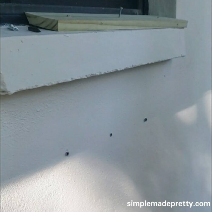 how to hang window boxes no brackets