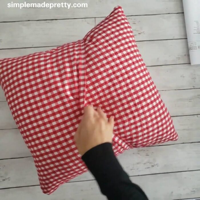 patchwork quilt pillow cover