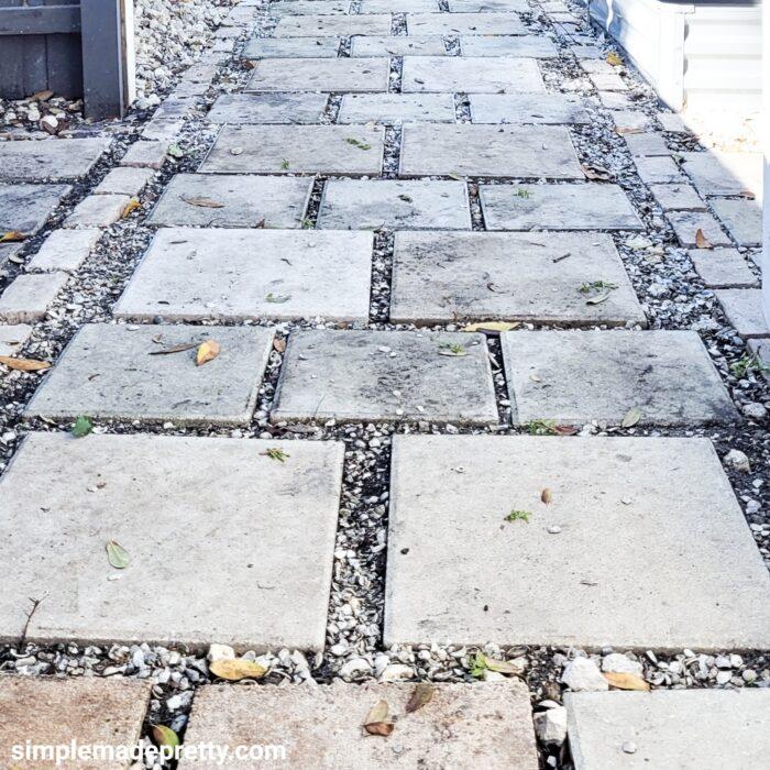 DIY Walkway Pavers Shell