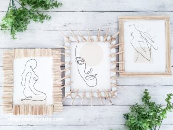 DIY Wall Decor Boho Dollar Tree