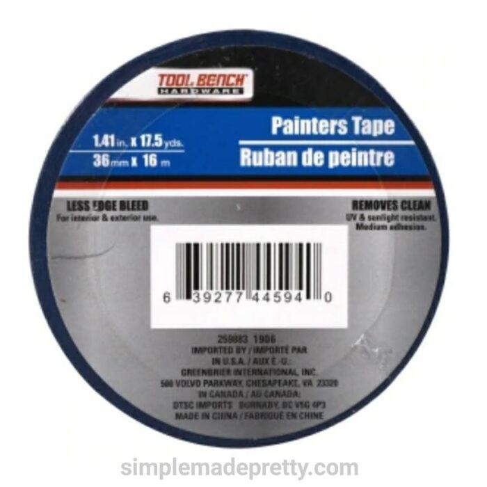 Dollar Tre Painter's Tape