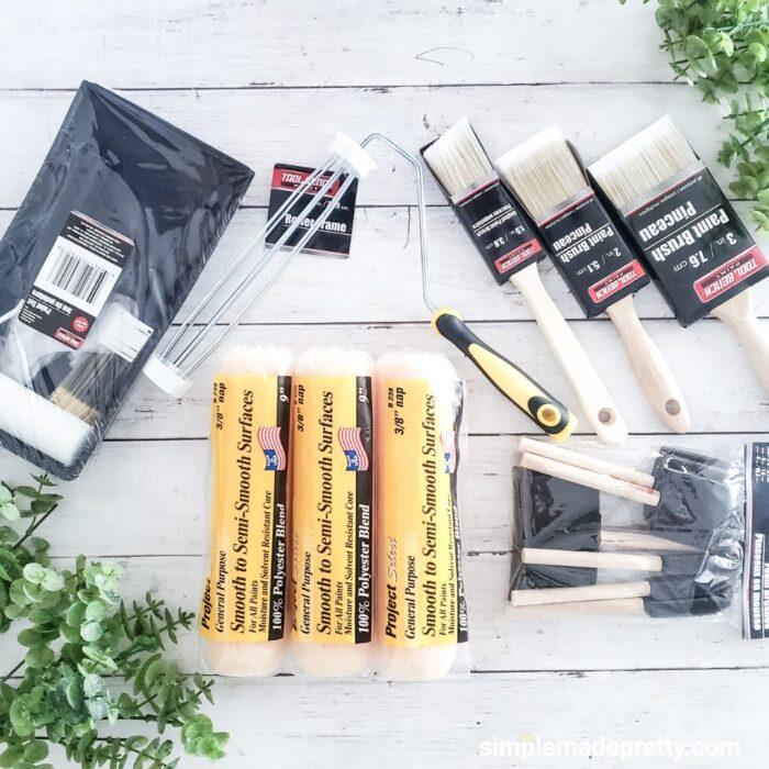 Dollar Tree Paint supplies