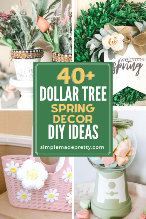Dollar Tree Spring Decor 2021