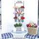 Dollar Tree Spring Flower Rack DIY Mug Rack