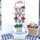 Dollar Tree Spring Flower Rack DIY Mug Rack