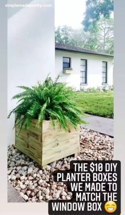 How to make a planter from fence boards
