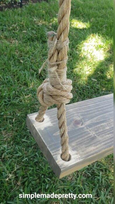 Tree Swing Knot