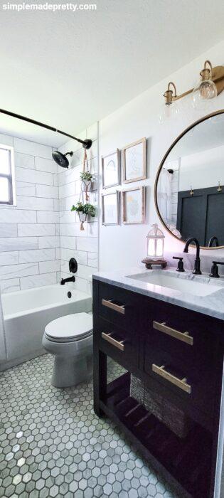 floor and decor tile bathroom