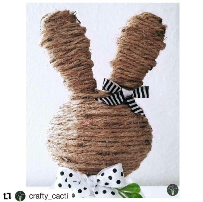 rope decor bunny