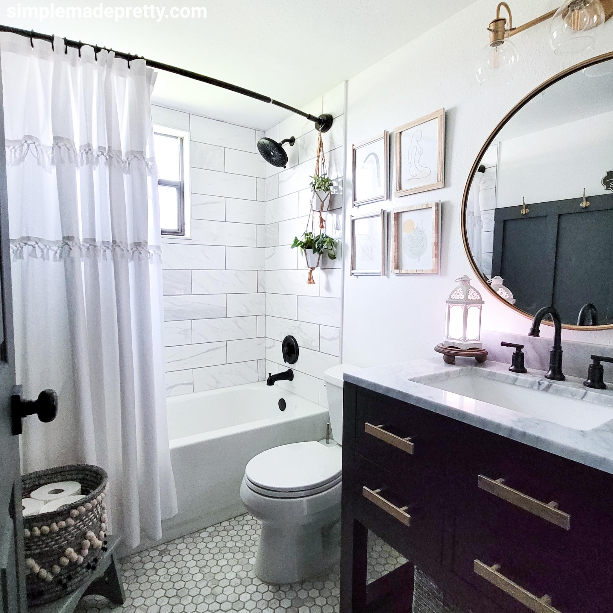 Bathroom Remodel On A Budget Simple, Updated Bathroom Ideas