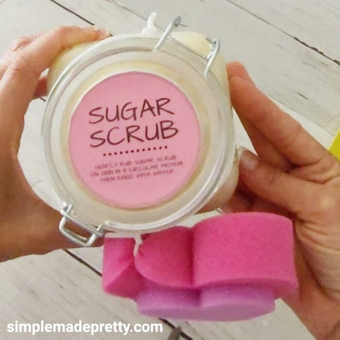 3 ingedients sugar scrub DIY videos