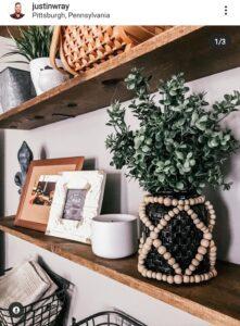 Dollar Tree Beaded Vase Idea