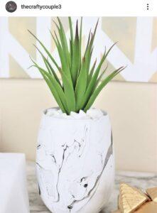 Dollar Tree Farmhouse Vase DIY