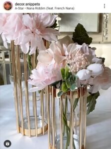 Dollar Tree Glam Decor Vase DIY