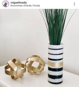 Dollar Tree Glass Vase DIY