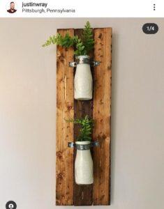 Dollar Tree Milk Bottle craft