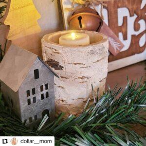 Dollar Tree Vase Candle Holder