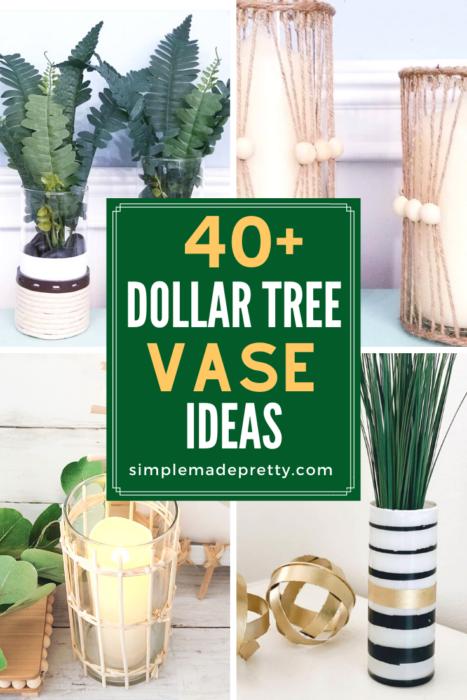 Dollar Tree Vase Ideas Pinterest