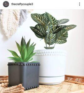 Dollar Tree boho vases DIY