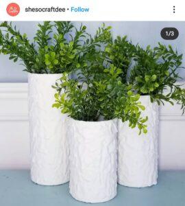 Dollar Tree painted vase ideas