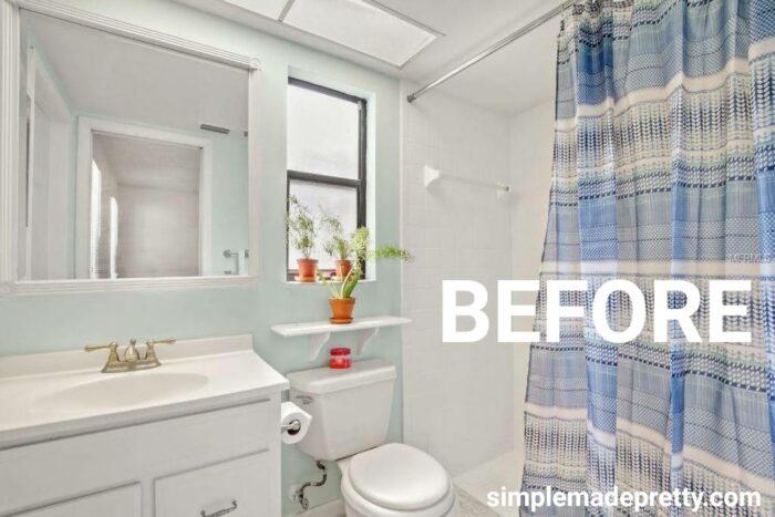 Master Bathroom Before pic listing