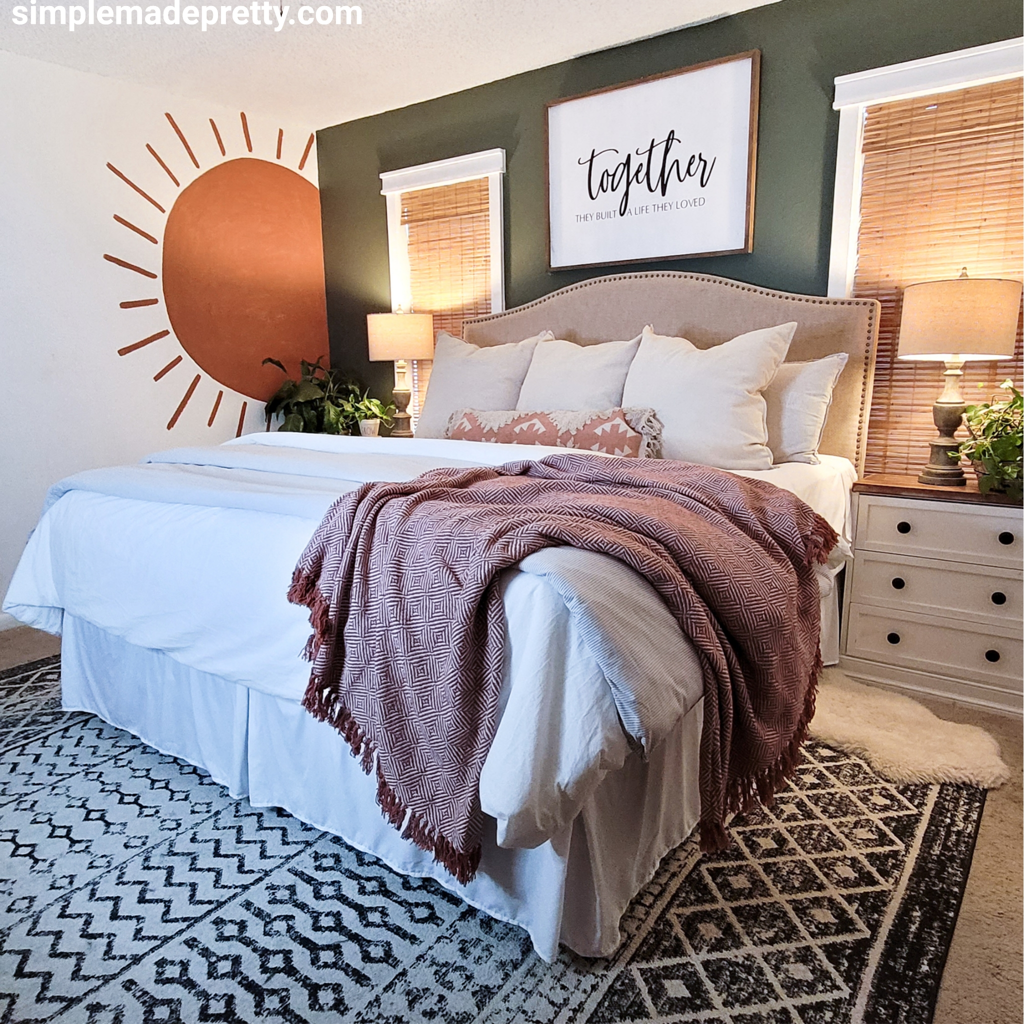 Bedroom ideas boho chic Futon Shop Mattress