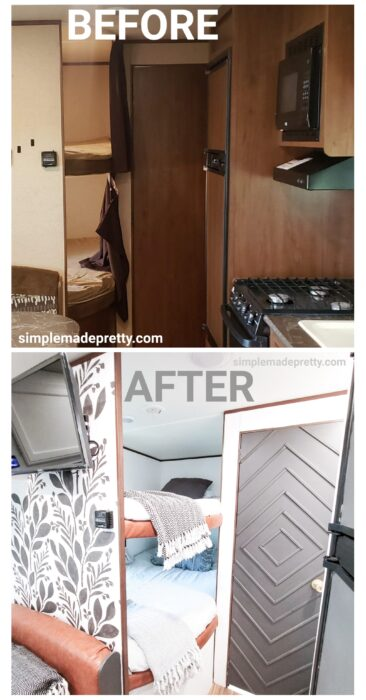 Camper Before and After Remodel