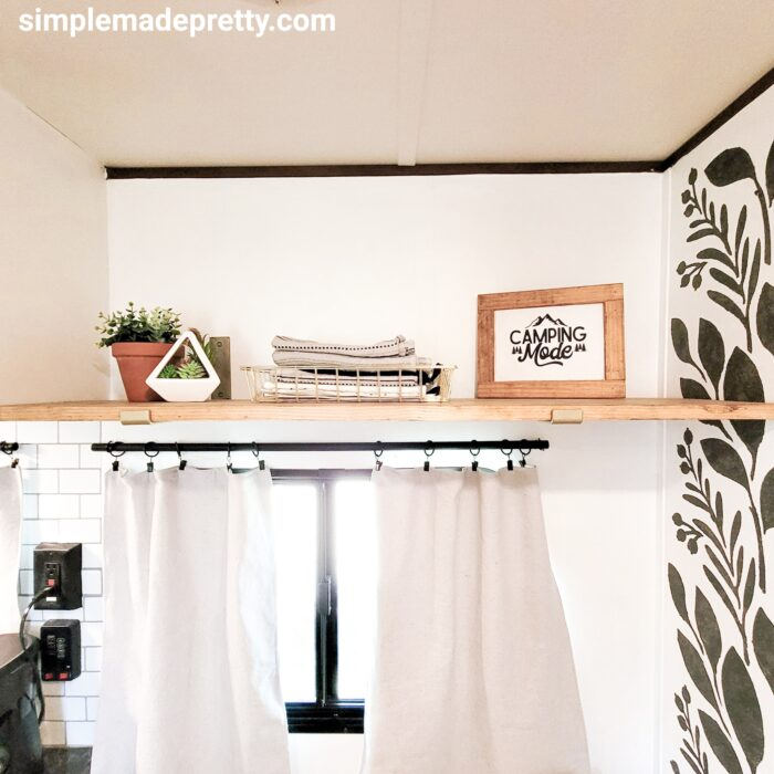 DIY camper curtains
