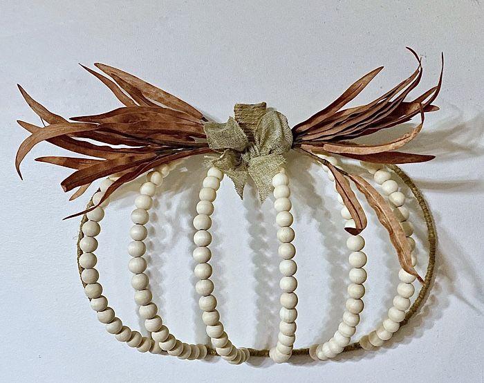 Dollar Tree Pumpkin Wreath Forms – Need ideas_