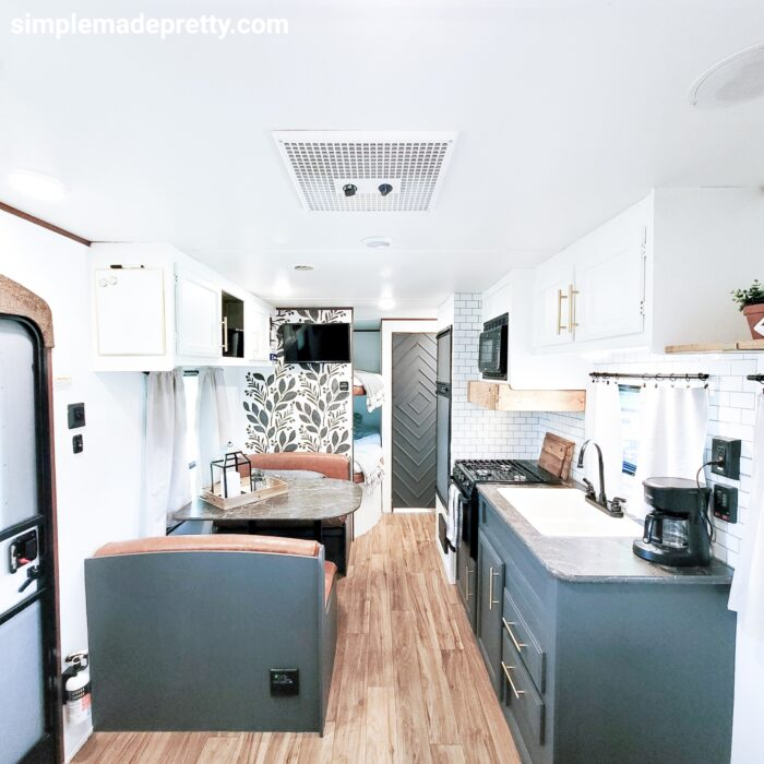 Jayco Travel Trailer before and after