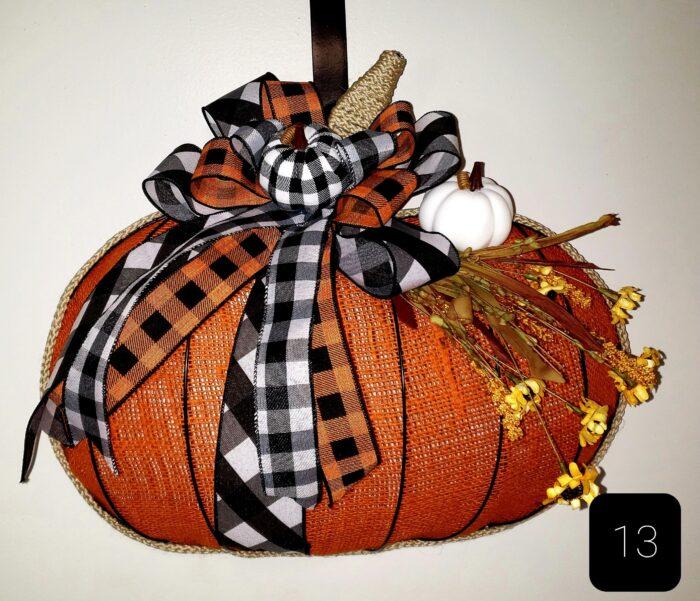 Dollar Tree Pumpkin Wire Form