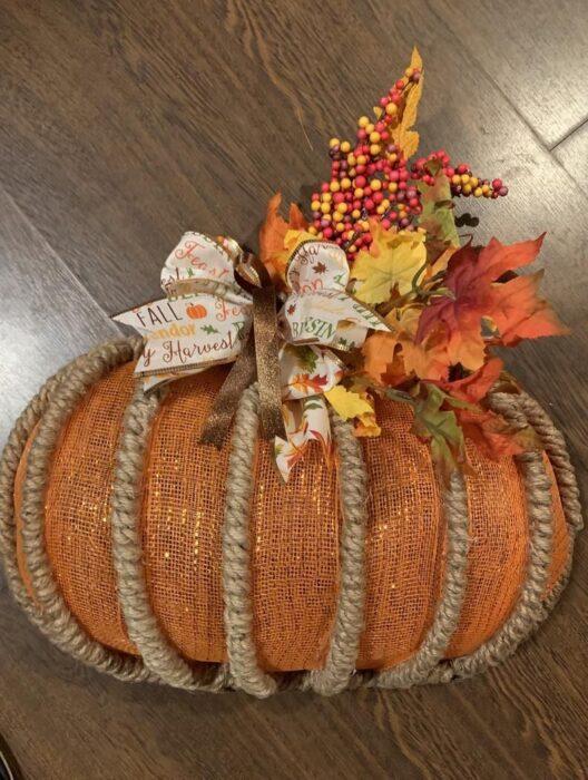Pumpkin Wreath Form