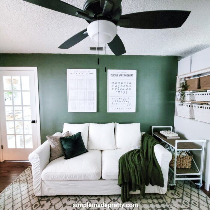 Simple Made Pretty Game Room Family Room