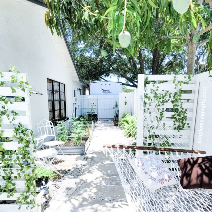 backyard garden side yard diy