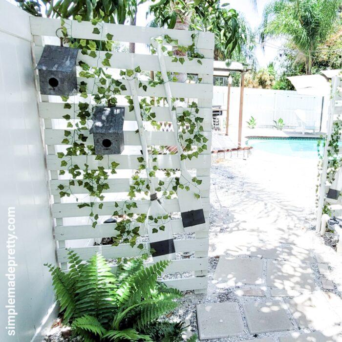 backyard privacy fence diy