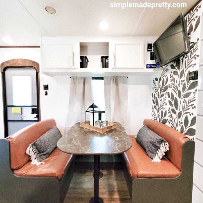 travel trailer no sew cushions