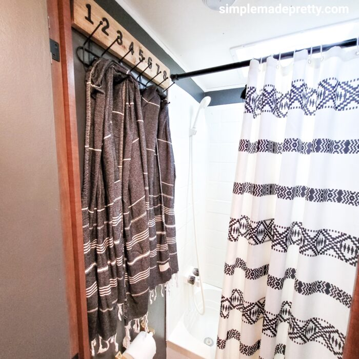 travel trailer remodel before and after farmhouse
