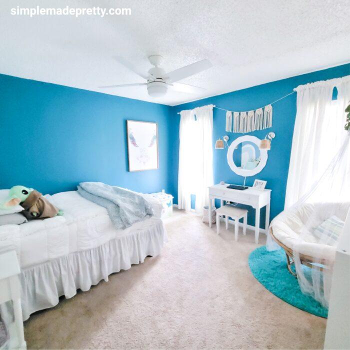 tween girl bedroom decor