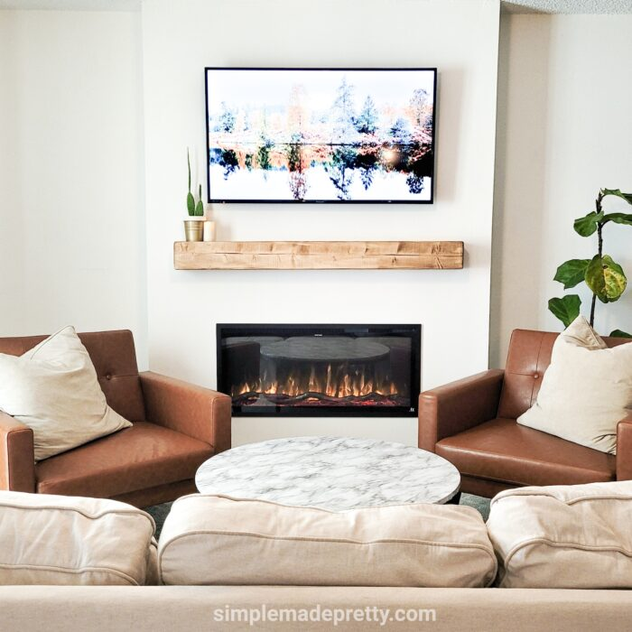 how to build a fireplace bump out