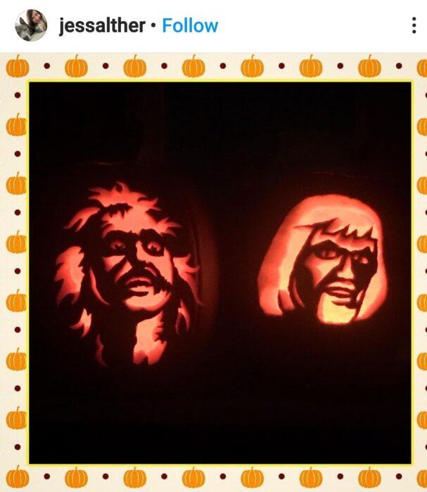 Beetle Juice Halloween Pumpkin Carving Ideas