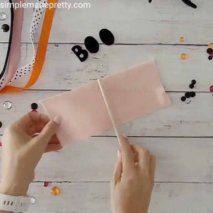 Boo Basket Flag DIY ideas