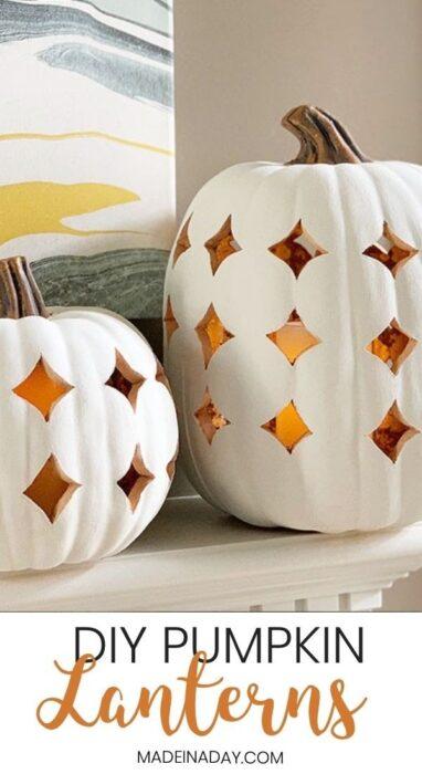 Cute Easy Halloween Pumpkin Carving Ideas