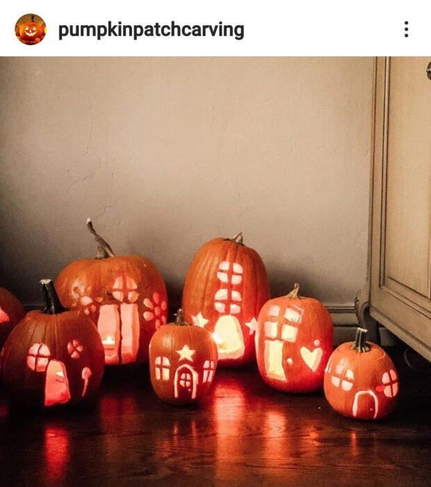 Fairy Garden Halloween Pumpkin Carving Ideas