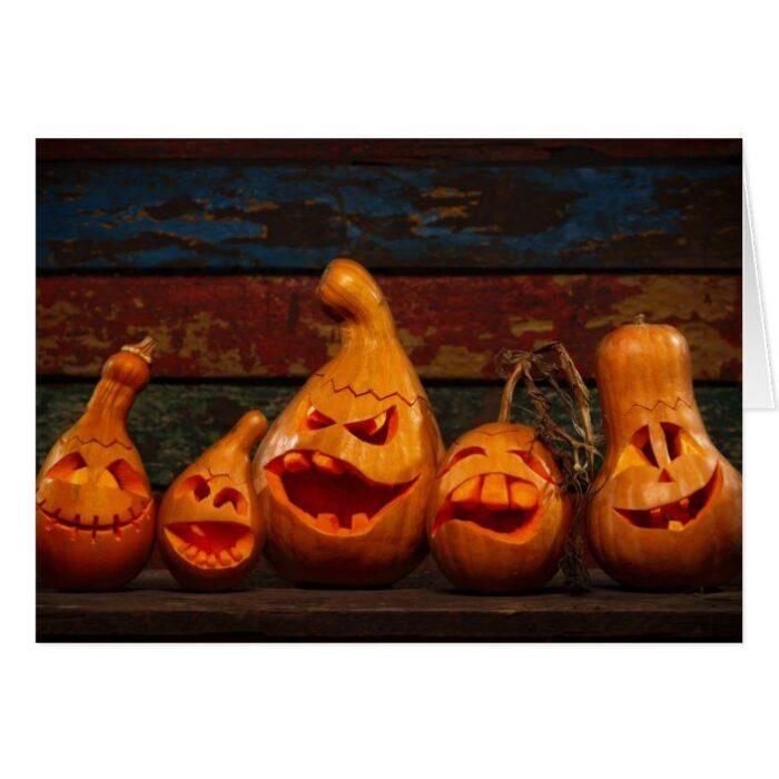 Halloween Pumpkin Carving Family Butternut Squash