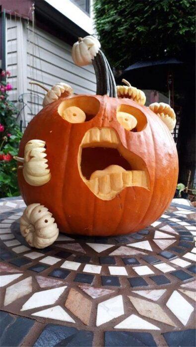 Halloween Pumpkin Carving Ideas crazy cool