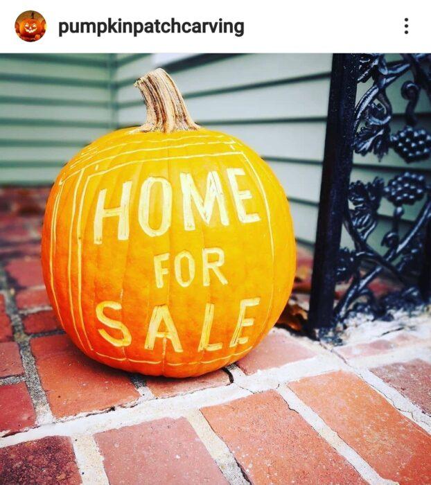 Home for Sale Halloween Pumpkin Carving Ideas